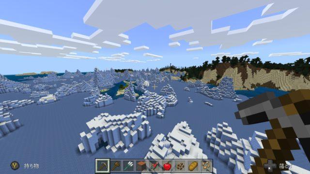 MineCraft(マインクラフト)のプレイ中画面12