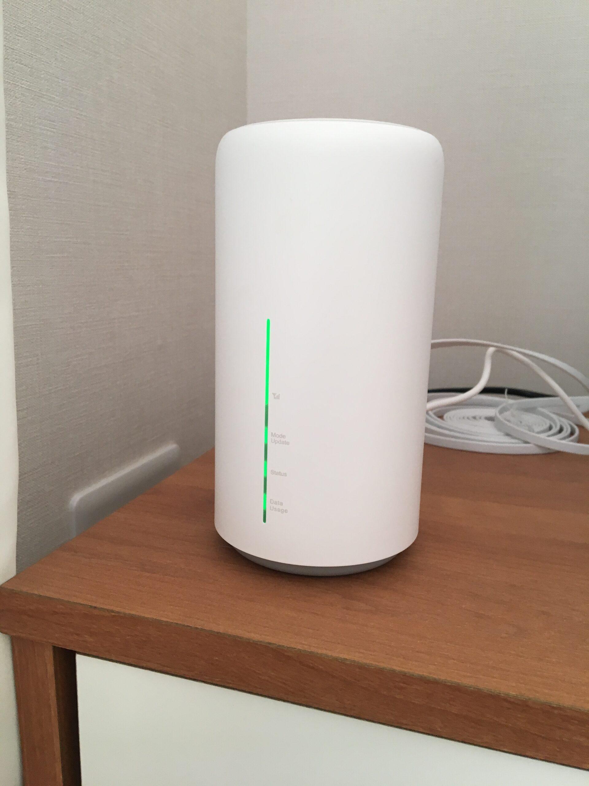 WiMAXのSpeed Wi-Fi HOME L02