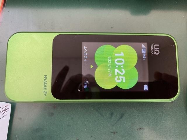 auWiMAXのSPEED Wi-Fi NEXT W04-2