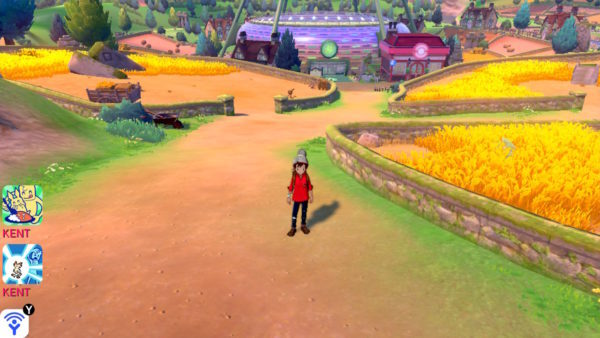 ポケモン剣盾のプレイ画面3